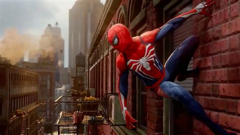 marvel  insomniacs spider man ps exclusive game