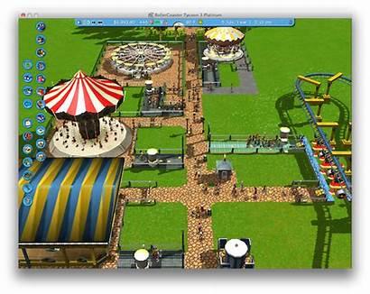 Rollercoaster Tycoon Platinum Mac Amusement