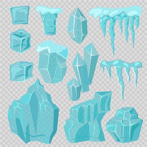 set  ice caps vector  kitvector  atcreativemarket