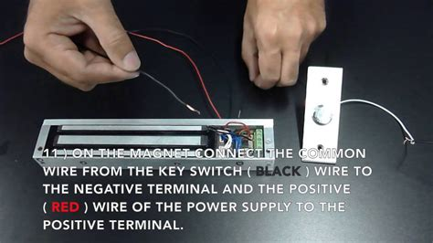 wireless entry pawn shop magnetic lock kit wiring
