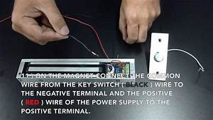 Instructions On How To Wire A Wireless Entry Pawn Shop Magnetic Lock Kit