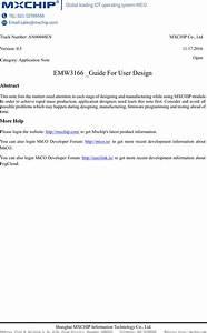 Mxchip Information Technology Emw3166 Embedded Wifi Module