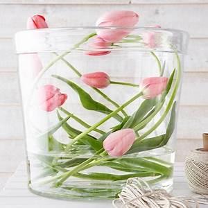 Blumendeko Im Glas : tulpen ausgefallene dekoideen zum nachmachen living at home ~ Frokenaadalensverden.com Haus und Dekorationen