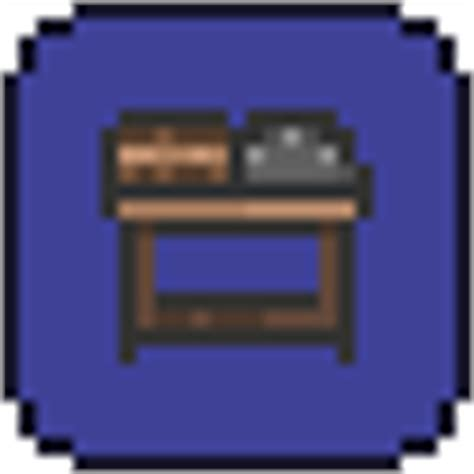 terraria chair and table sawmill terraria wiki fandom powered by wikia