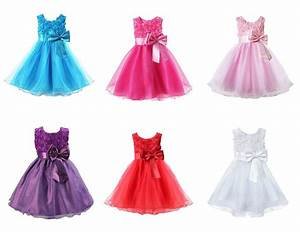 girls rose bow dress flower princess sleeveless formal With robe 6 ans