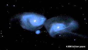 Milky Way and Andromeda Galaxies Collision Simulated ...