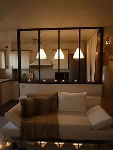 Décoration Intérieure Salon : la verri re dans la cuisine 19 id es photos ~ Teatrodelosmanantiales.com Idées de Décoration