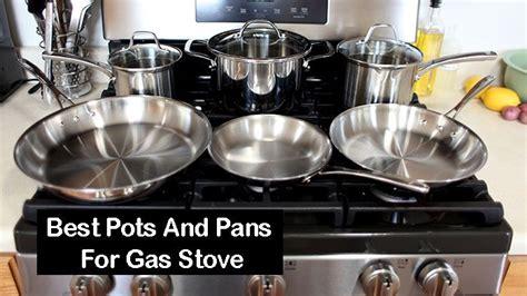 pots  pans  gas stove top  reviews