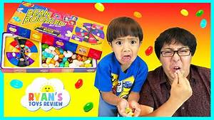 BEAN BOOZLED CHALLENGE with Ryan ToysReview - YouTube