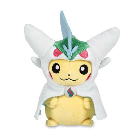 Pikachu With Mega Gallade Hoodie Poké Plush Standard 8