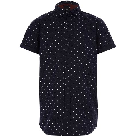 Polka Dot Sleeve T Shirt boys navy polka dot sleeve shirt sleeve