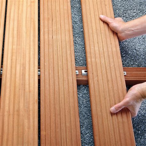 terrasse unsichtbare verschraubung die holzterrasse teil 3 die befestigung befestigungsfuchs