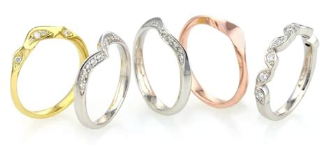 shaped to fit wedding rings a star diamonds ltd