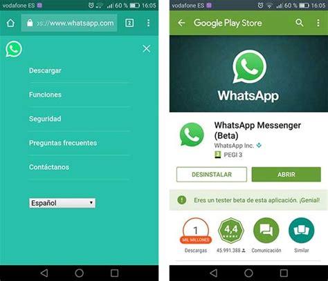 c 243 mo descargar whatsapp si no aparece en la tienda de android play store tuexpertoapps