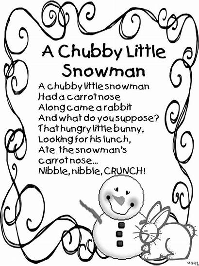Poems December Quotes Winter Snow Snowman Chubby