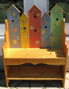 birdhouse bench woodworking plan      lots
