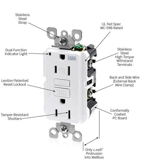 Leviton WT899-W 20-Amp 125-Volt SmartLock Pro Slim Weather