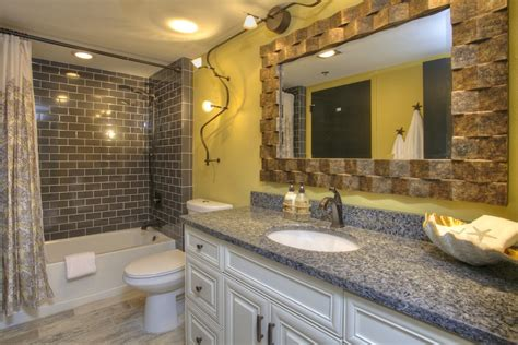 Bathroom Lighting Homebase by Tropical Bathroom Ideas Bathroom Tropical With Wood Look