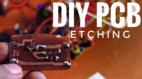 Diy Pcb Etching Make Circuit Boards With Custom Layouts