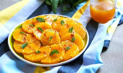 cuisiner un carré d agneau salade d 39 oranges à l 39 orientale une recette d 39 orange agrumes