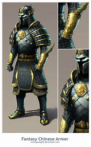 Medieval Chinese Armor