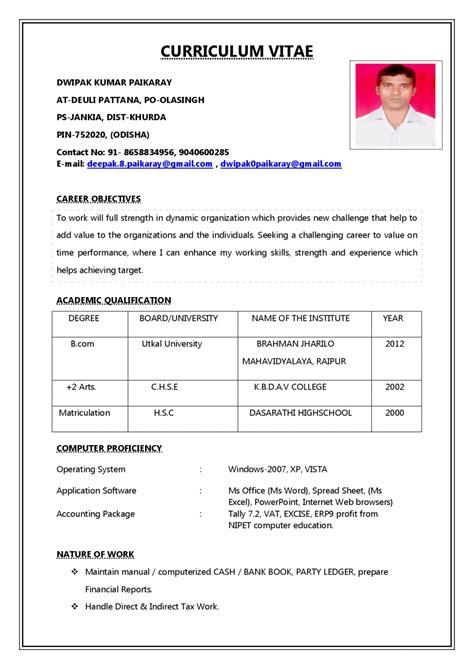pakistan cv samples  job application perfect resume