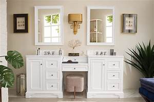 82, U0026quot, De, Soto, Bright, White, Double, Sink, Bathroom, Vanity