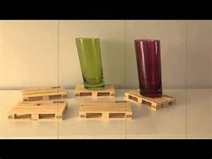 Dessous De Verre Bois : dessous de verre palette youtube ~ Teatrodelosmanantiales.com Idées de Décoration