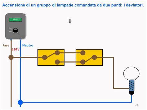 funzionamento lade a led schema elettrico due deviatori come collegare due lade e