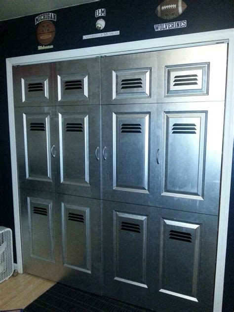 easy project for your room closet doors painted to