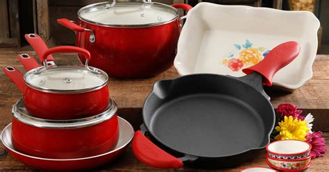 pioneer cookware woman piece regularly shipped combo walmart hip2save belly
