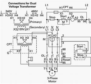 480v To 240v Transformer Wiring Diagram