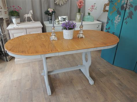 shabby chic sale uk shabby chic extending dining table for sale in uk large shabby chic rustic farmhouse oak