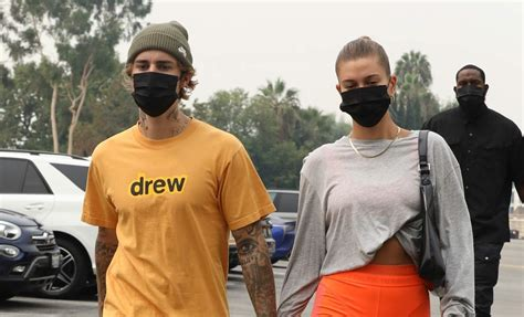 Justin Bieber & Wife Hailey Hold Hands En Route to a ...