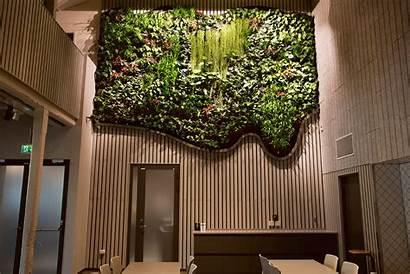 Vertical Indoor Garden Tekniska Museet Greenworks Walls