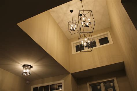 foyer chandelier newest trends for today s farmhouse look Farmhouse