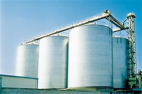 steel storage silo manufacturer  successful silo projects