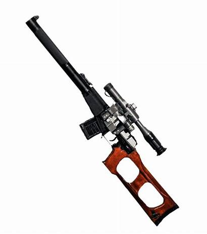Assault Rifle Vss Russian Vintorez Gun Transparent