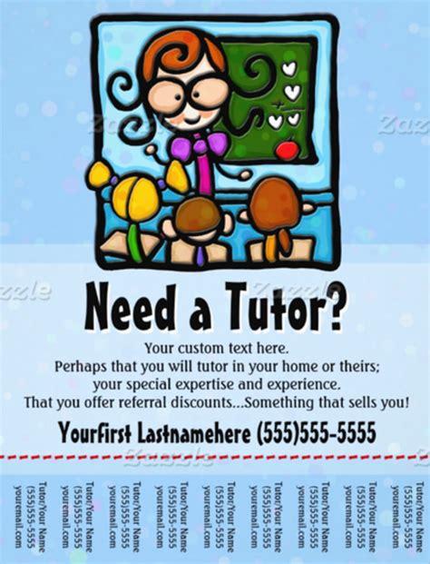 tutoring flyer templates  ms word psd