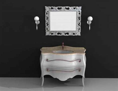 Classic vanity cabinet 3d model 3dsMax,3ds,AutoCAD files