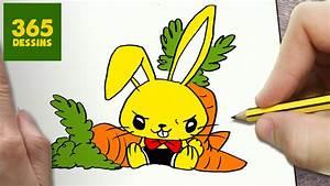 Lapin Facile A Dessiner : animaux kawaii 365 dessin dessin de manga ~ Carolinahurricanesstore.com Idées de Décoration