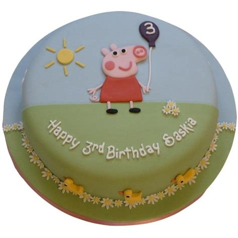 peppa pig cake buy   uk delivery  cakes