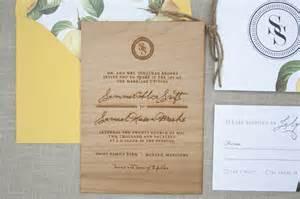 wood wedding invitations and rustic wood engraved wedding invitations