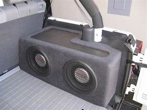 Custom Sub Boxes For Jeep Wrangler Jk