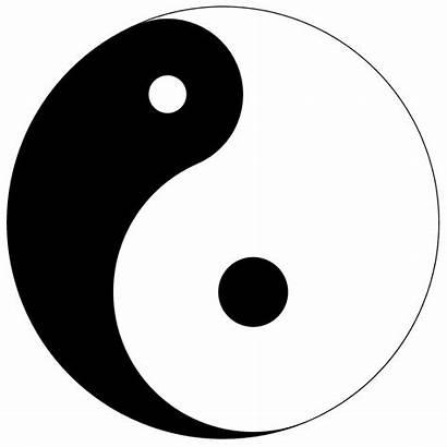 Yang Yin Yinyang Source Motion Symbol