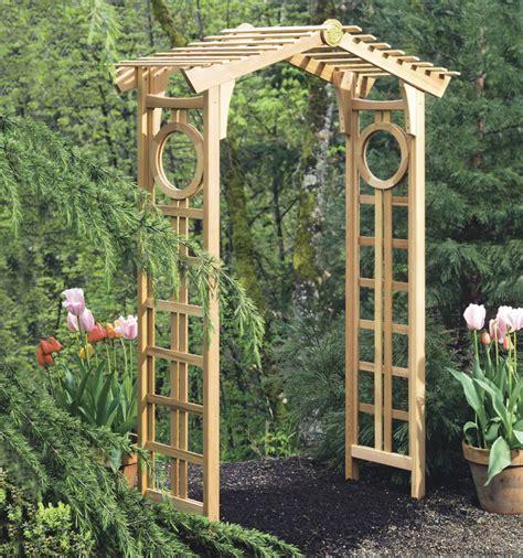 Garden Arbor Plans by Instant Get Arbor Plans Ambla