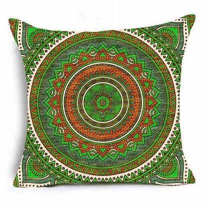 Mandala Covers Cushion Sofa Pillow Printed Case