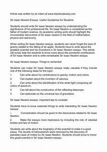 High School Reflective Essay Examples Essay On Isaac Newton In Hindi Movie After High School Essay also Essay Of Health Essay On Isaac Newton Personal Statement Questions Short Essay On  General Paper Essay
