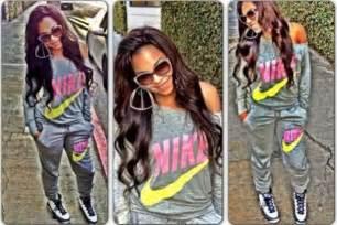 Girl Nike Sweat Suits