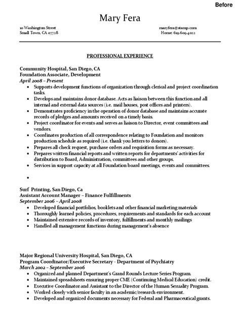 Administrative Assistant Resume Template - 2 Free Templates in PDF, Word, Excel Download